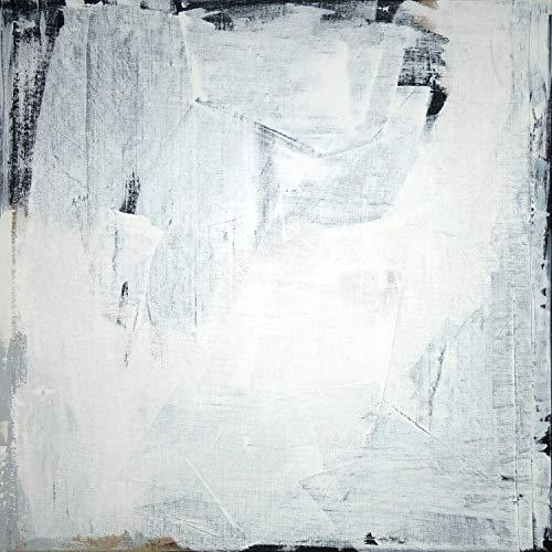 Abstraktion XL schwarz/weiß 00509