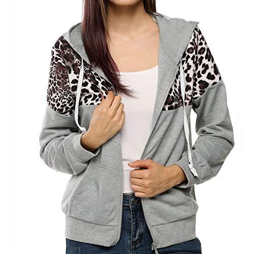 FRAUIT capuchonjack dames luipaard korte jas herfst winter patchwork capuchon tas hoodies mode elegante streetwear kleding blouse top outwear