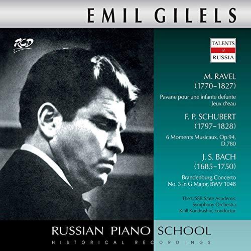 Ravel, Schubert & J.S. Bach: Piano Works