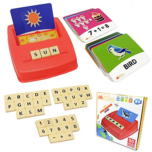 Flash Cards Matching Sight Words Alphabet Math Board Games Toys For Toddlers Kids Abc Educational Learning Montessori Stem Homeschool Kindergarten Preschool Activities Ages 3 4 5 7 8 Year Old