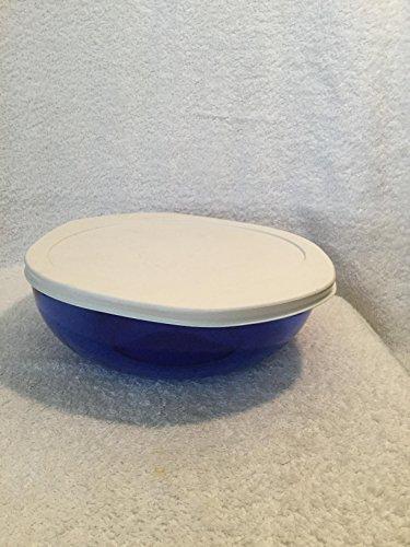 Pyrex Cobalt Blue #024 2 Liter Casserole Dish with Plastic Lid
