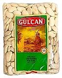 Gülcan - Granos de lima, granos gruesos blancos, fasulye (1000 g).