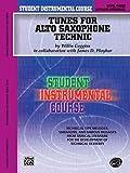 Student Instrumental Course Tunes for Alto Saxophone Technic: Level III