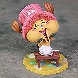 ZJZNB Figura de Anime Modelo Juguetes Happy Qiaoba Chopper Doll Machine Cake Doll Figura de acción Modelo Decoración Approx10cm