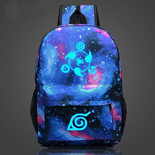 Mochila Naruto Fluorescente - Colorida