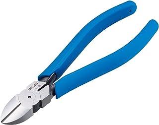 ホーザン(HOZAN) 電工用ニッパー 強力に切断できる丸タイコ型の摺動部 鉄線対応 全長163mm N-12