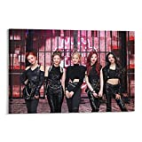 Star Girl Group Itzy Kpop Guess Who Mafia in The Morning Showcase Teaser Lia Yeji Yuna Ryujin Chaeryeong Member Set Cool Canvas Art Poster and Wall Art Picture Print Modern Family Bedroom Decor Poster