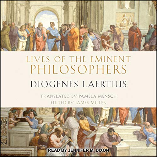 Lives of the Eminent Philosophers audiobook cover art