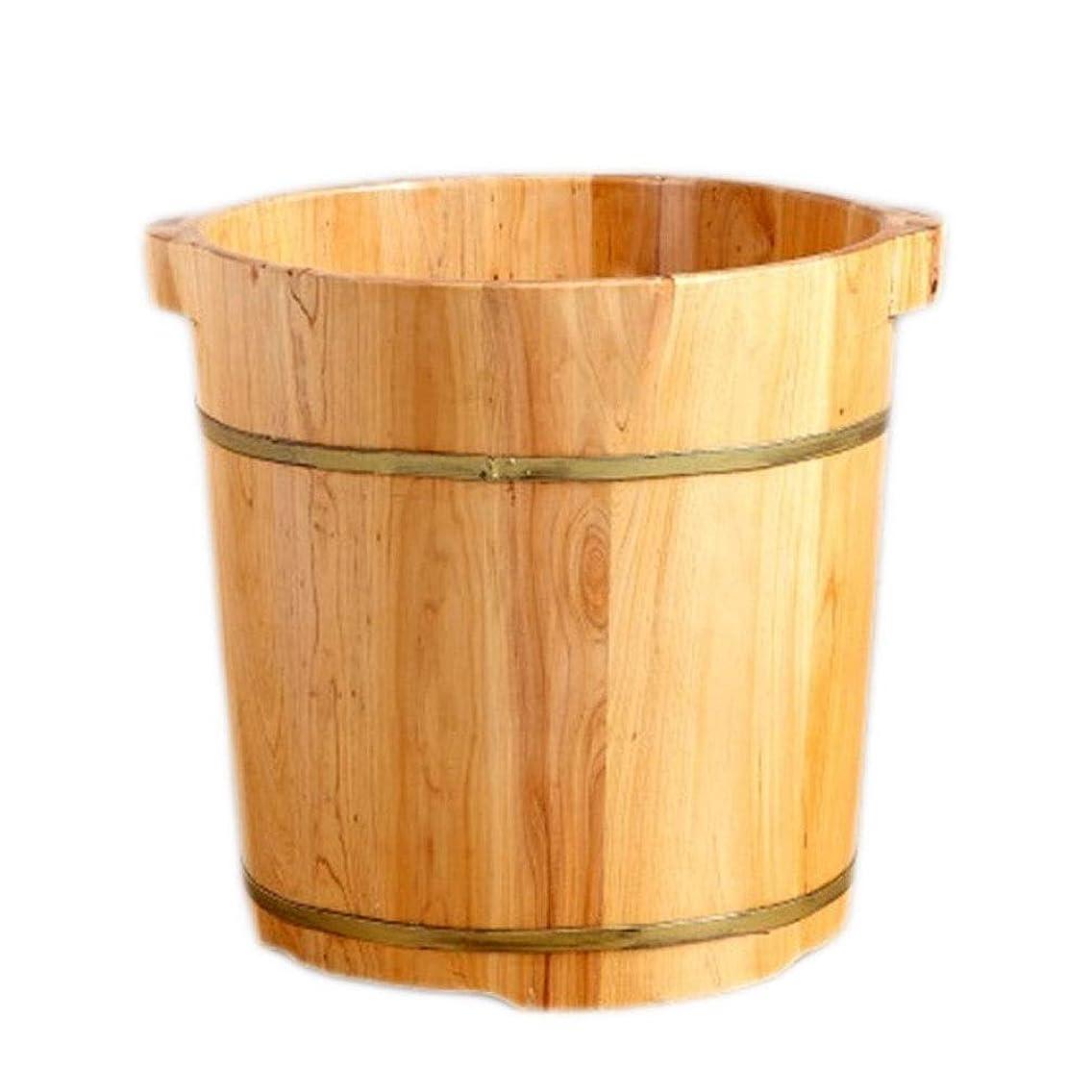 識別フェンス留まるLYRZUYU 大人のためのサウナ木製バケツ、足と脚スパ、ホームのためのフットマッサージスパ、大型フットバススパ浴槽、ペディキュアフットバスリラックス (Size : A)
