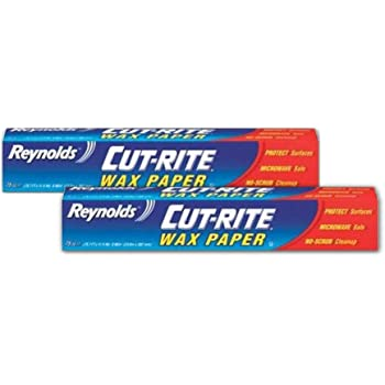Reynolds Wrap Cut-Rite Wax Paper, 75 Sq Ft (Pack of 2)