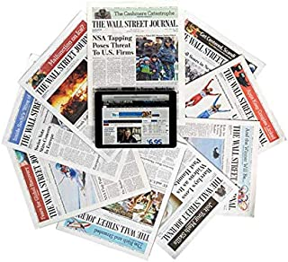 The Wall Street Journal Newspaper Subscription - One Year Print and Digital