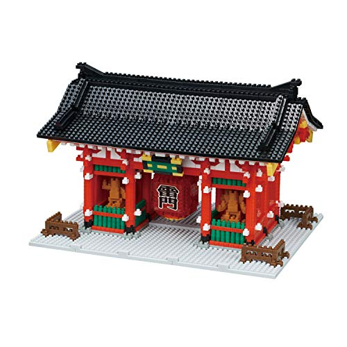 Best Buy! Nanoblock Kaminarimon Deluxe Edition NB-046