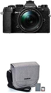 Olympus OM-D E-M5 Mark III Black Body with M.Zuiko Digital ED 14-150mm F4.0-5.6 II Black Lens Kit with Starter Kit