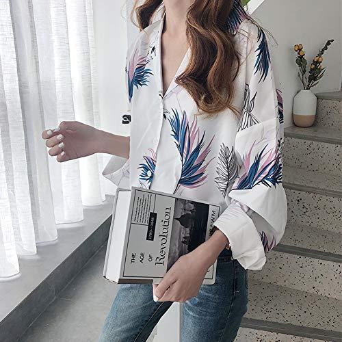 YUGNOL Dames Kleding Mode Kleding Blouses Vrouwen Blouses Mode Voile Herfst Harajuku