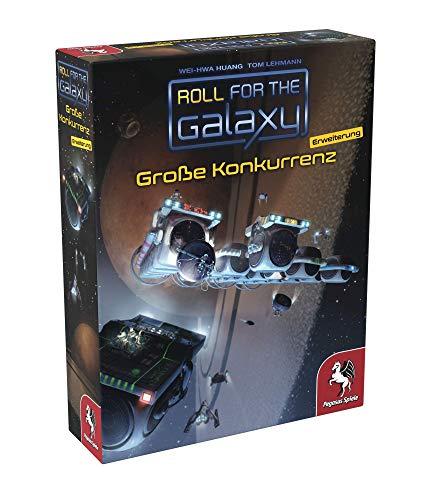 Pegasus Spiele 53042G - Roll for the Galaxy: Große Konkurrenz