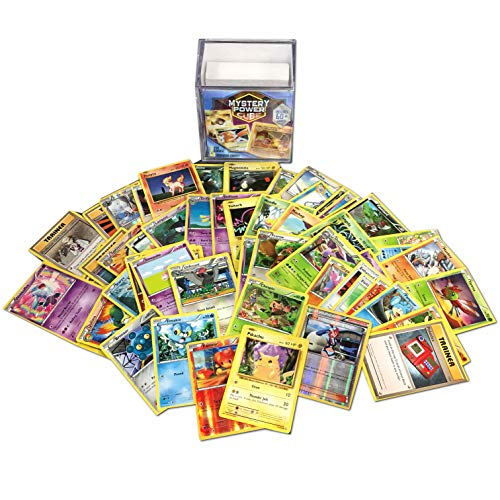 Pokemon Cards Mystery Power Cube Box | EX/Gx Special Card | Foil Cards | Genuine Cards