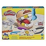 Play-Doh Juguete El Dentista Bromista niños a Partir 3 años con 8 Botes, no tóxico, Colores Surtidos