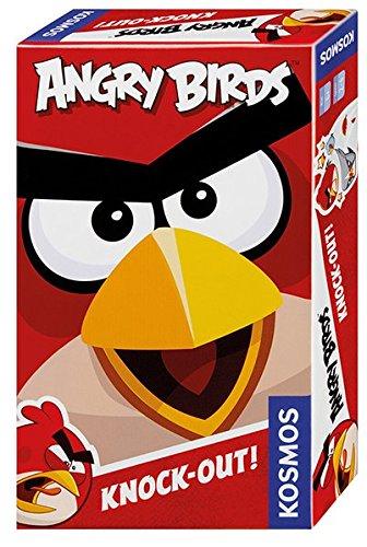 Kosmos Angry Birds-Knock-out Gioco, Colore Nero, 711320