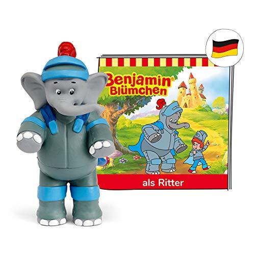 tonies Hörfiguren für Toniebox: Benjamin BLÜMCHEN Hörspiel Figur Benjamin als Ritter - ca. 42 Min. - ab 3 Jahre - DEUTSCH