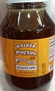 Walker Honey Farm Wildflower Honey 46 Oz (Pack of 3)
