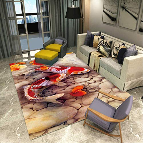 LEELFD Modern 3d Printing Rectangle Carpet Hallway Doormat Anti-slip Bathroom Carpets Kids Room Absorb Water Kitchen Mat Rug Customize message me 01