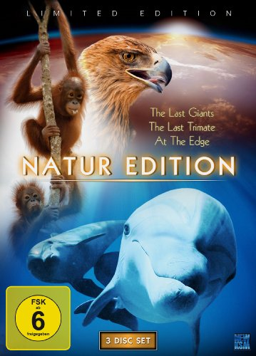 Natur Edition (The Last Giants / The Last Trimate / At The Edge) [3 DVDs] [Limited Collector's Edition]