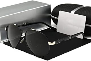 WEIJIANGBEI النظارات المستقطبة للرجال والنساء نظارات شمسية UV400 القيادة مع النظارات الشمسية الألومنيوم المغنيسيوم