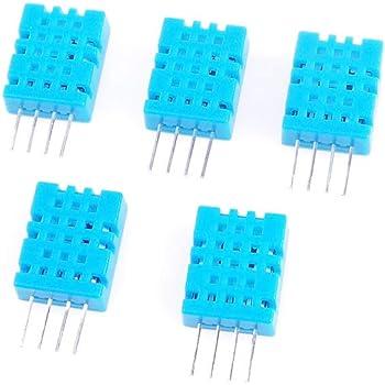 Angeek 5 Stk Dht11 Temperatursensor Und Luftfeuchtigkeitssensor Für Arduino Raspberry Pi Gewerbe Industrie Wissenschaft