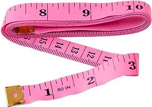 Con regla Costura a medida Cinta m/étrica, Suave Amarillo De pl/ástico 152.40 cm X 150 cm
