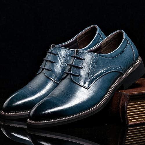 LOVDRAM Chaussures en Cuir pour Hommes Four Seasons Nouveau Chaussures Simples Chaussures Chaussures pour Hommes Chaussures De Travail Cuir pour Hommes Chaussures en Cuir