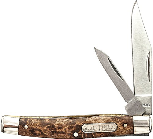 Schrade SCH33OTW Couteau de Poche Unisexe – Adulte, Marron, Taille Unique