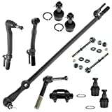 11 Piece Kit Tie Rod End Drag Link Ball Joint Sway Bar Link for Super Duty 4WD