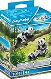 Playmobil Couple de Pandas avec bébé Multicolor 70353