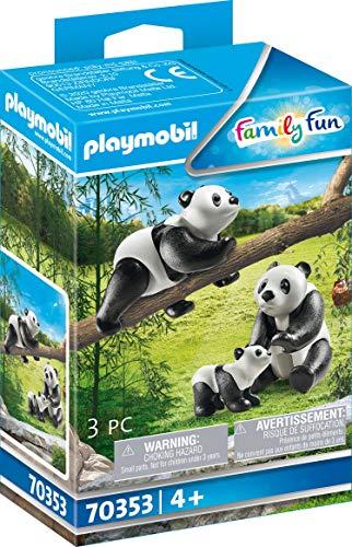 PLAYMOBIL 70353 - 2 Pandas mit Baby, ab 4 Jahren