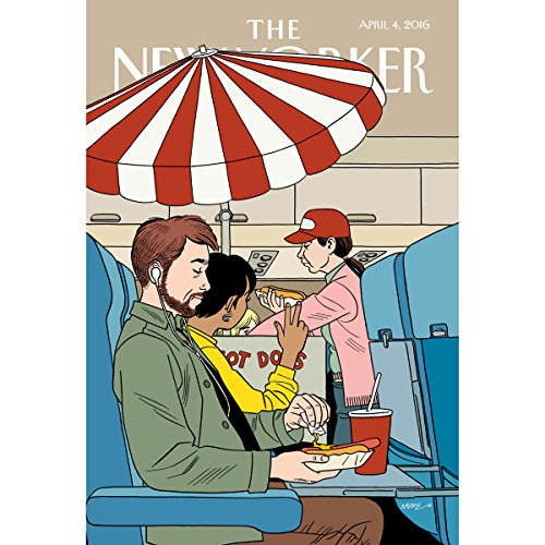 The New Yorker, April 4th 2016 (Lauren Collins, Dana Goodyear, David Remnick) audiobook cover art