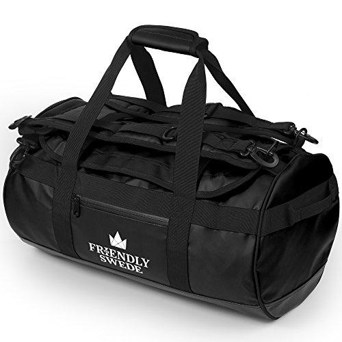 The Friendly Swede Wasserfeste Reisetasche Duffle Bag Rucksack - 30L / 60L / 90L -...