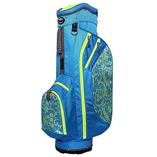 Hot-Z Golf 2017 Ladies 2.5 Cart Lace Blue/Lime Bag