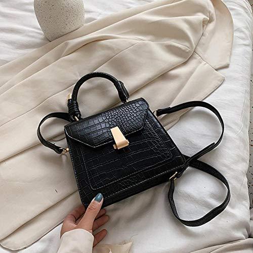 PANZZ Crossbody Bags Women Shoulder Handbags Female Summer Bag, Black, Mini