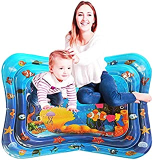 Water Play Mat, 8 Upgrade [New 2020] Inflatable Baby Toys and Fun Activity Game Center for Boys and Girls to Grow up, can ...