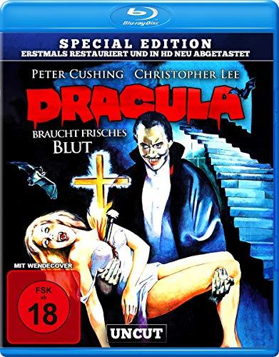 Dracula braucht frisches Blut - uncut S.E. (in HD neu abgetastet) [Blu-ray]