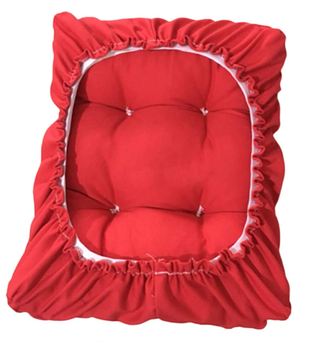 Sigmat Rectangle Bar Stool Cushion Padded Stool Cover Red 10