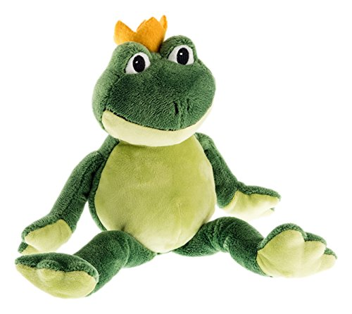 Schaffer 5482 Charles Plüsch Frosch, grün, 36 cm