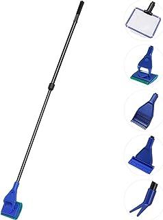 Ueetek - Kit d'ustensiles de nettoyage pour aquarium (5 pièces)