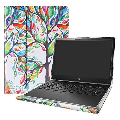 Alapmk Schutzhülle für HP ProBook 450 G6 Serie 39,6 cm (15,6 Zoll) Weiß Love Baum