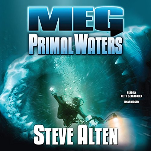 Meg: Primal Waters audiobook cover art