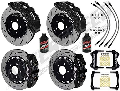 WILWOOD CAMARO BIG BRAKE KIT FRONT FRE Fashion 1 year warranty REAR WITH COMBO PACKAGE