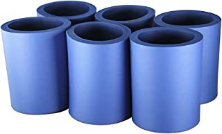 Pinnacle Mercantile Beer Can Coolers Thick Insulators Foam Non-Collapsible Royal Blue Set 6 …