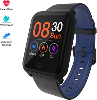 H706 Color Screen Fitness Watch, IP67 Waterproof Smart Activity Tracker with Heart Rate Monitor,Pedometer,Calorie Counter,Sleep Monitor, SMS/SNS Alert