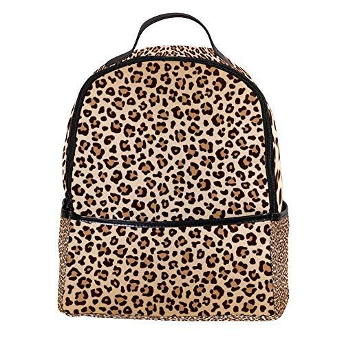TIZORAX Luipaard Paw Prints Laptop Rugzak Casual Schouder Daypack voor Student School Bag Handtas - Lichtgewicht