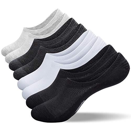靴下 メンズ レディース くるぶし 8足セット ソックス フットカバー ショートソックス 浅履き 脱げない スニーカーソックス 抗菌防臭 吸汗通気 綿 男女兼用